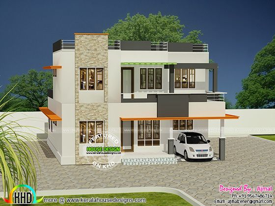 20 lakhs house in kerala kerala home design and floor plans for Home design with cost estimate