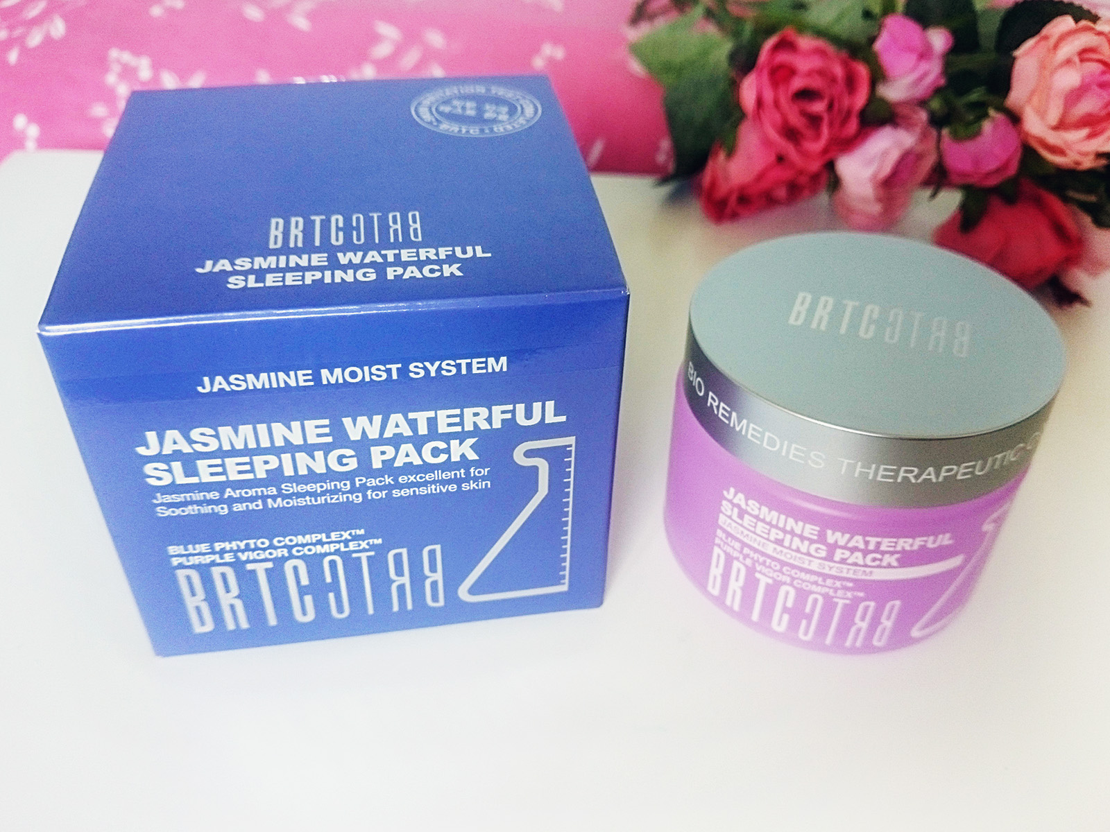 BRTC Jasmine Waterful Sleeping Pack