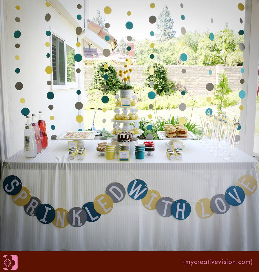 Invitation Parlour Sprinkle Party Baby Shower