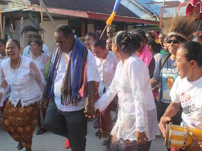 Elias Kambu Ajak Masyarakat Tanimbar dan Asmat Pelihara Keberagaman