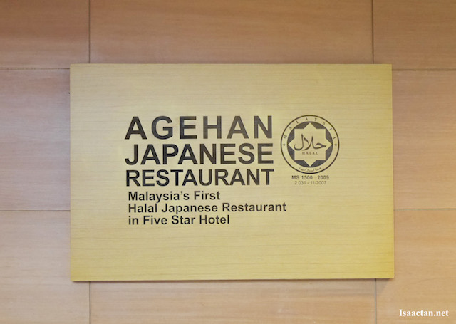 Malaysia's First Halal Japanese Restaurant in a Five Star Hotel