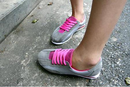 Chút lòe loẹt cho giầy độn đế sneaker9s