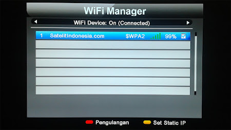Cara Setting Wifi Pada Matrix Sinema HD