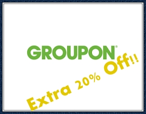 Get An Extra 20% Off Local Deals at Groupon!