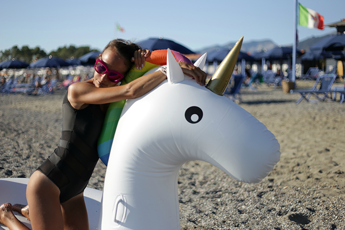 unicorno gonfiabile
