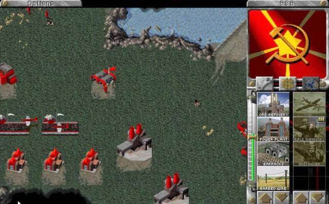 Command and Conquer Red Alert 1 PC Games