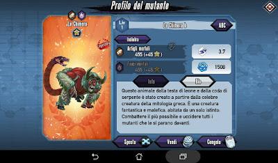 Mutants: Genetic Gladiators Breeding video N°364 (The Chimera - Beast)