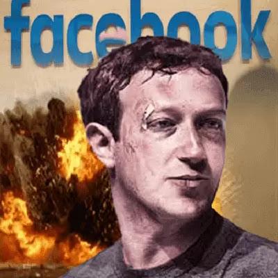زوكربيرج الفيسبوك في حرب