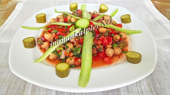Nohut Salatası Tarifi - inanankalpler.net