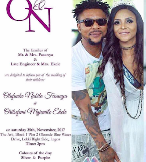 Aso-Ebi for Oritsefemi's wedding now on sale!