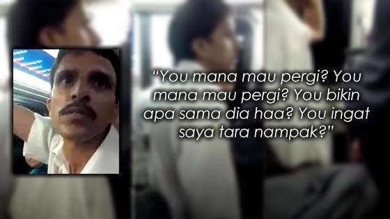 Warga Asing Kantoi Raba Wanita Melayu Dalam Tren