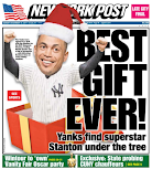 Post goes Stanton front and back