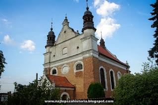Dolina Dolnej Wisły, Polskie Kościoły Barokowe
