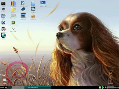 DebianDog, una distro ligera para ese fósil de PC que tienes en el rincón