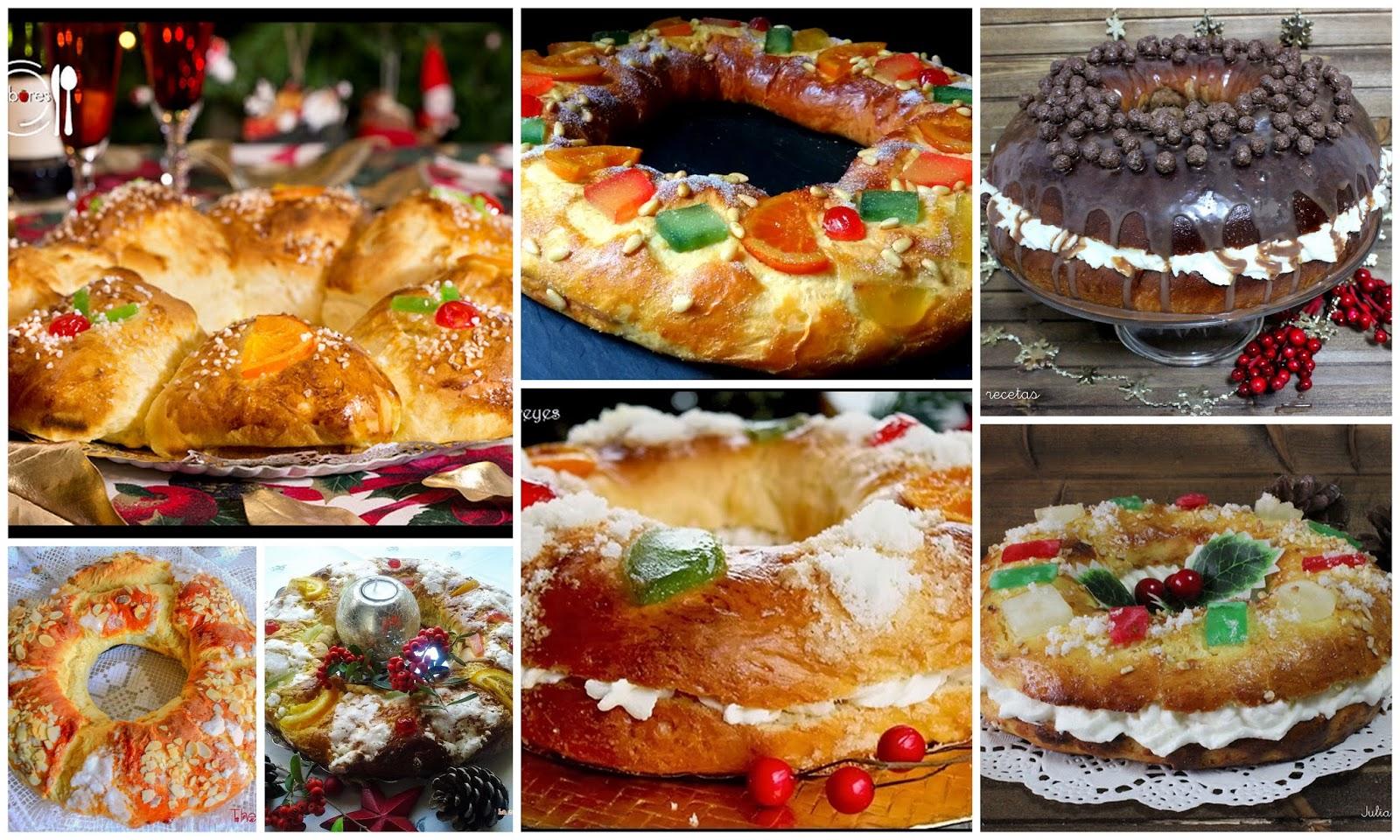 Julia y sus recetas los roscones m s ricos para el d a de - Roscones de reyes ...