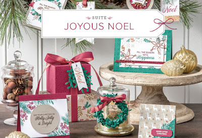 Make your own stunning Christmas cards easily with the Joyous Noel Product Suite. See it here - http://bit.ly/JoyousNoelSuite