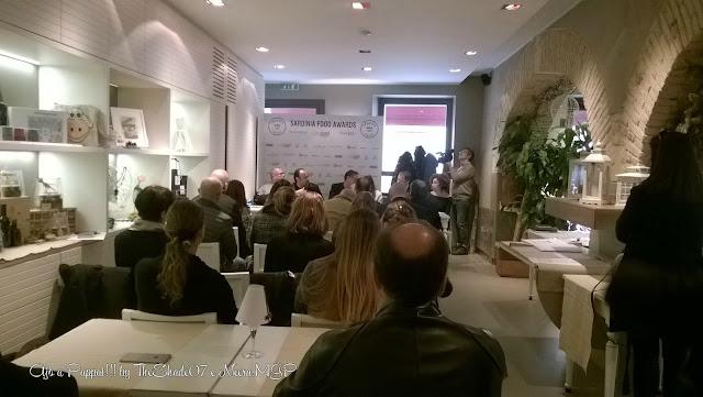 Fotografia sulla conferenza stampa Sardinia Food Awards 2016