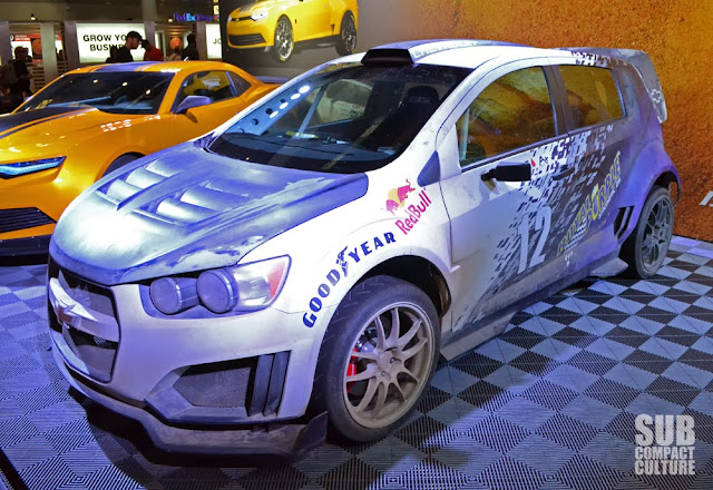 Transformers Chevrolet Sonic RS