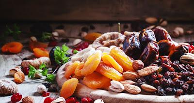 Frutas secas la mejor golosina