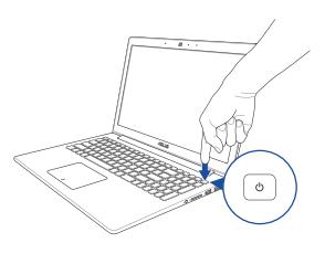ASUS ZenBook Pro UX01VW - Press The Power Button
