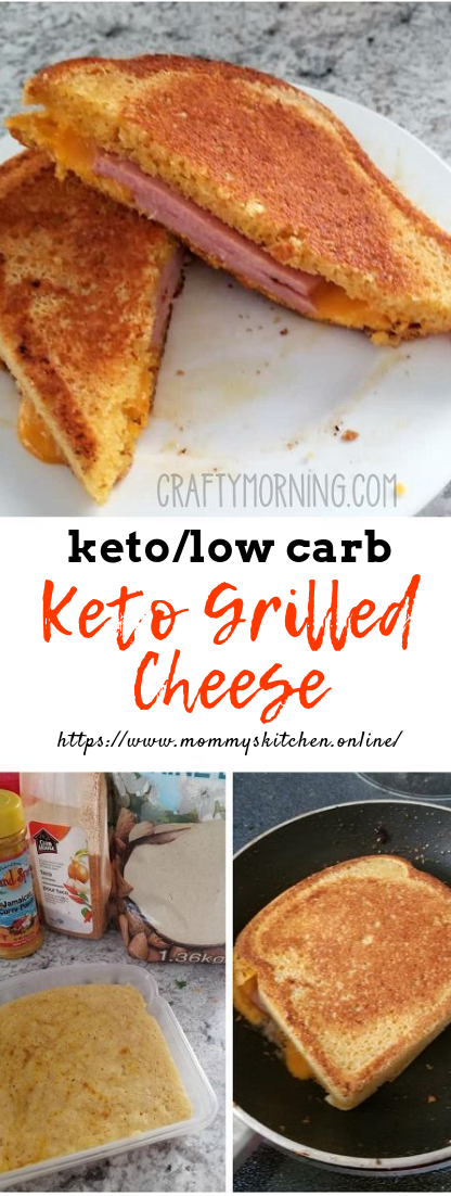 Keto Grilled Cheese #healthy #keto