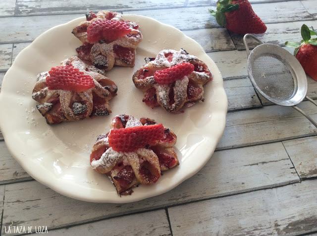 pasteles-de-hojaldre-con-fresas
