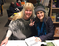 With Amy Goodman of Democracy Now!, Portland, OR 2017