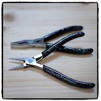 pinces à bijoux à paillettes breloque & pendentif