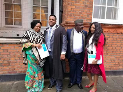 Gov. Rochas Okorocha's First Son Afamefula Bags Masters Degree From Imperial College London 5