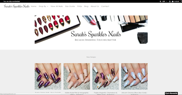 Click here to visit my store, where you can buy my hand painted press on nail sets.