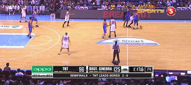 Ginebra def. TNT, 125-101 (REPLAY VIDEO) Semis Game 3 / June 15