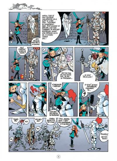 """Mélusine Tome 1 """"Sortilèges"""" page 5 chez Dupuis"""