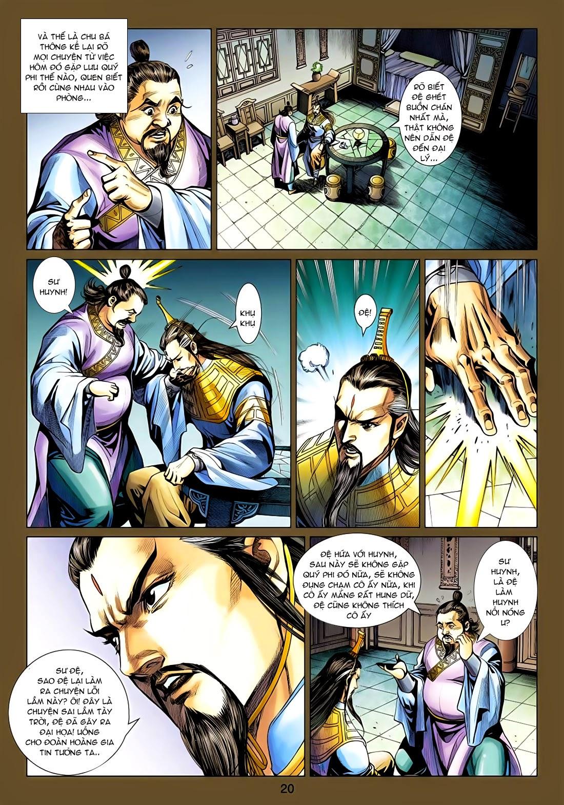 Anh Hùng Xạ Điêu anh hùng xạ đêu chap 77: thế thượng tối cường võ công trang 20