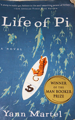 The Life of Pi by Yann Martel - book cover