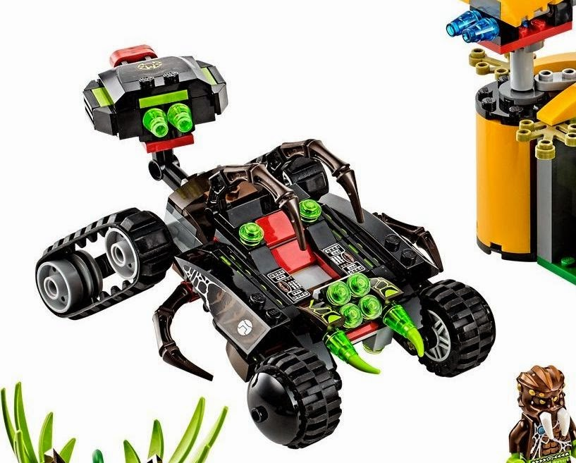 The Lego King: Lego Chima Braptor's Wing Striker ...