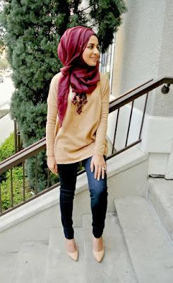 Style Hijab Modern Anak Muda
