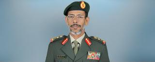 زيارة مفاجئة للفريق الركن حمد محمد ثاني لقوات التحالف الاماراتية