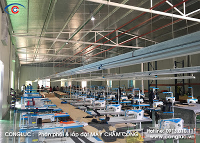 Lắp máy chấm công xưởng may UMi Thủy Nguyên Hải Phòng