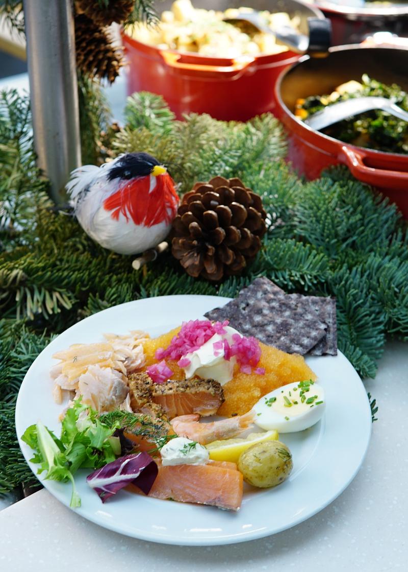 joulubuffet, viking_line, jouluristeily