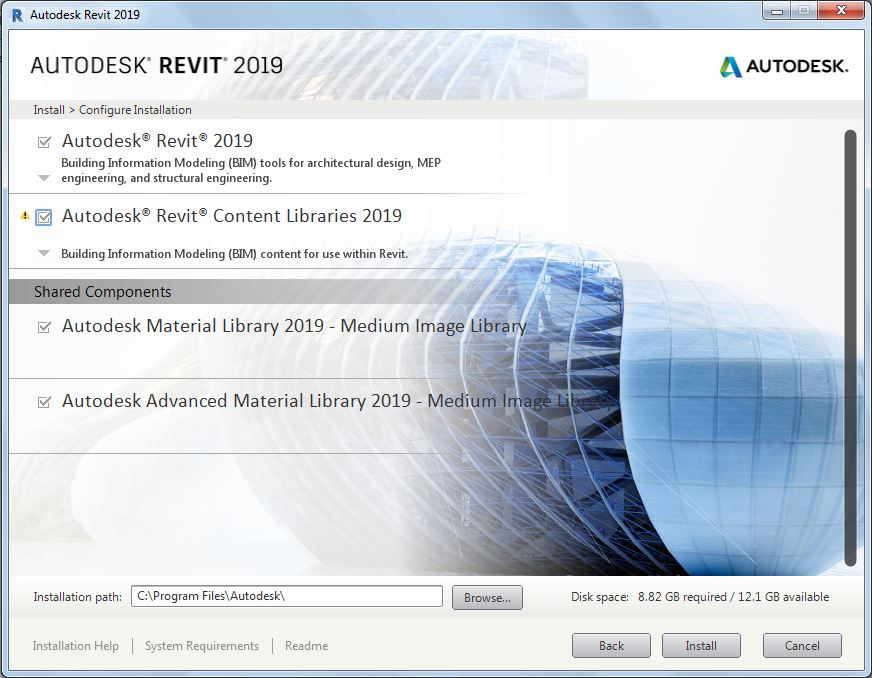 RevitCat: Revit 2019 Installation