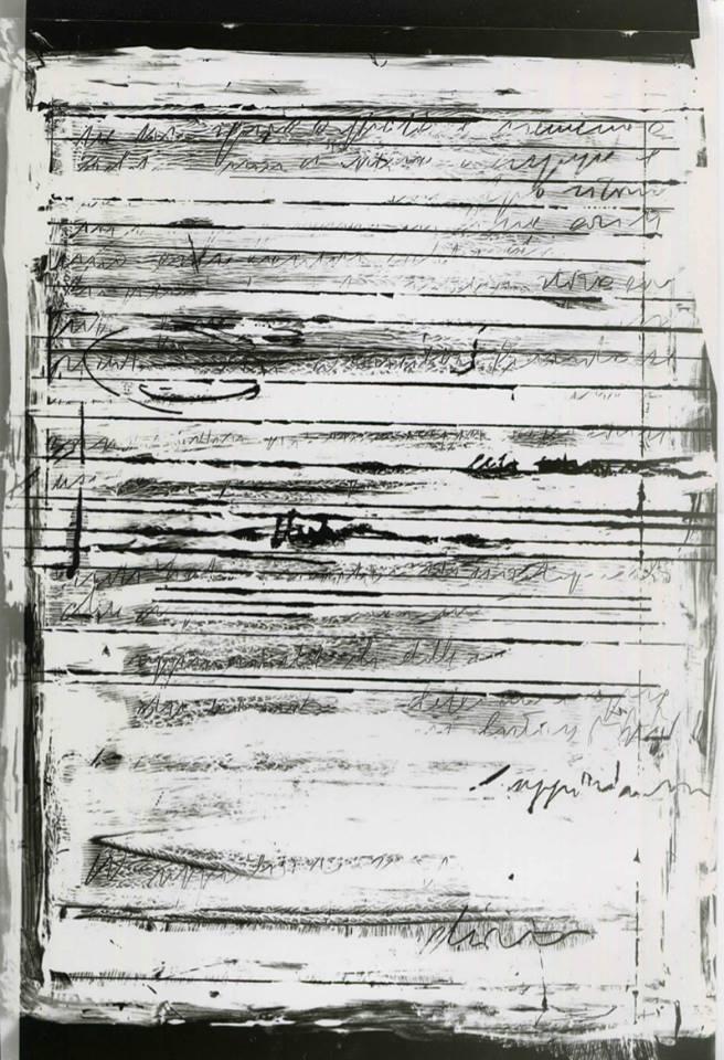 Murasalà (Corrispondenza) - Cliché Verre, anno 2018 - Chiara Giorgetti