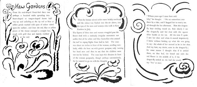 The narrative technique in Virginia Woolf's 'Kew Gardens