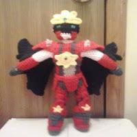 PATRON GRATIS IRON STAR | POWER RANGERS AMIGURUMI 30768