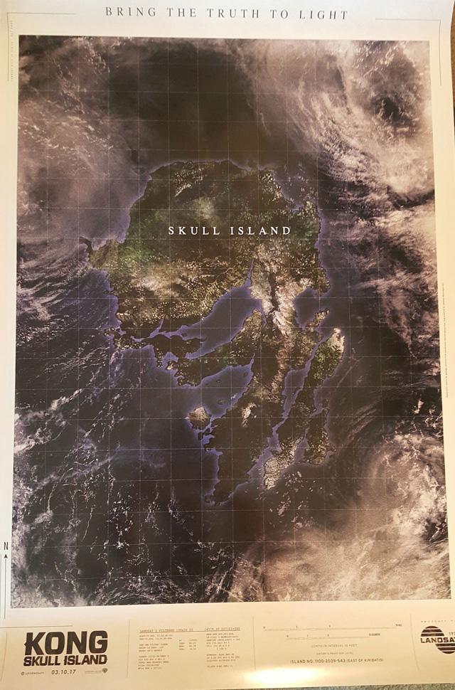 映画 コング スカルアイランド ポスター