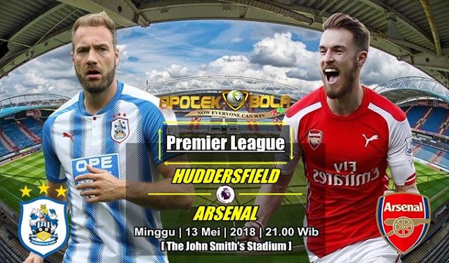 Prediksi Huddersfield Town vs Arsenal 13 Mei 2018