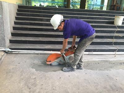 Khoan cắt bê tông tại phường Tân Hưng Thuận
