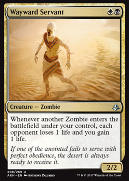 Magic the Gathering Adventures: Amonkhet Cards of Interest
