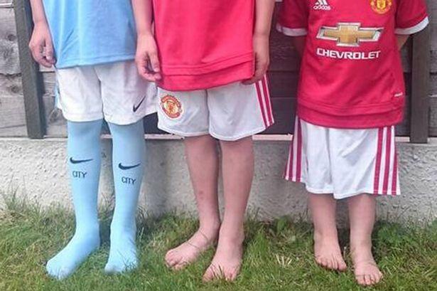 adidas también pincha con los kits infantiles del United