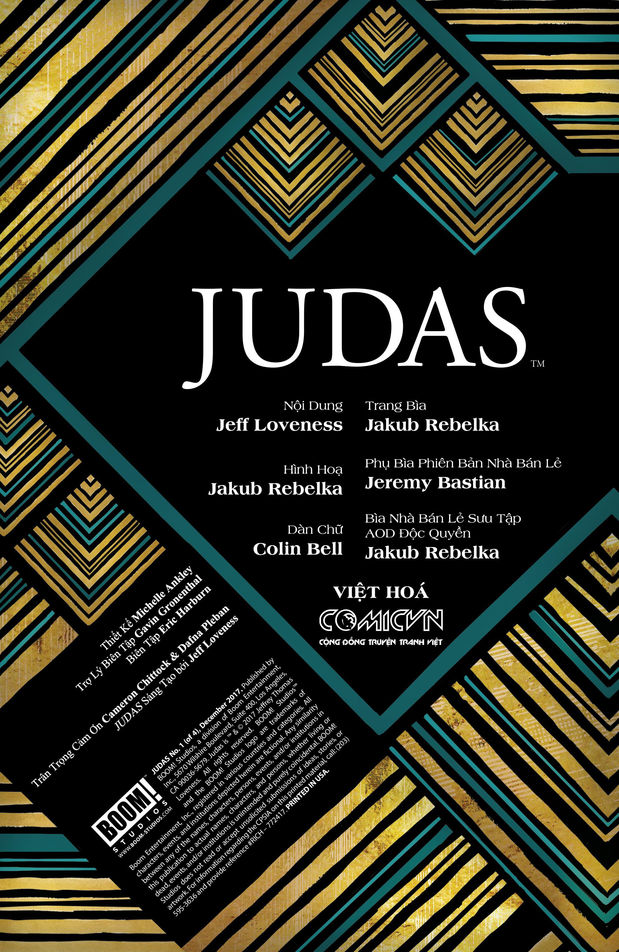 Judas - Chuyện Kẻ Tội Đồ