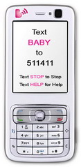 Free Mobile Health Service Text4baby provides Health Tips to Pregnant Women, New Moms via SMS